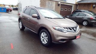 Used 2014 Nissan Murano SL/AUTO/AWD/BACKUP CAMERA/IMMACULATE$15900 for sale in Brampton, ON