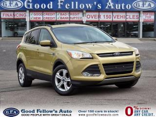 Used 2014 Ford Escape SE MODEL, FWD, REARVIEW CAMERA, 1.6 LITER ECOBOOST for sale in North York, ON