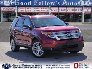 Used 2014 Ford Explorer XLT MODEL, 4WD, 7 PASSENGER, LEATHER SEATS, NAV for sale in North York, ON