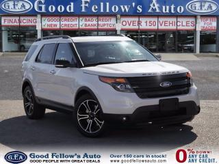 Used 2014 Ford Explorer Sport SPORT, 4WD, 7 PSSENGER, LEATHER SEATS,6 CYL, 3.5L for sale in North York, ON