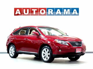 Used 2012 Lexus RX 350 NAVIGATION LEATHER SUNROOF 4WD BACKUP CAM for sale in North York, ON