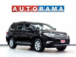 Used 2013 Toyota Highlander LEATHER  7 PASSENGER 4WD BACKUP CAM for sale in North York, ON