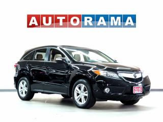 Used 2015 Acura RDX TECH PKG NAVIGATION LEATHER SUNROOF 4WD BACKUP CAM for sale in North York, ON