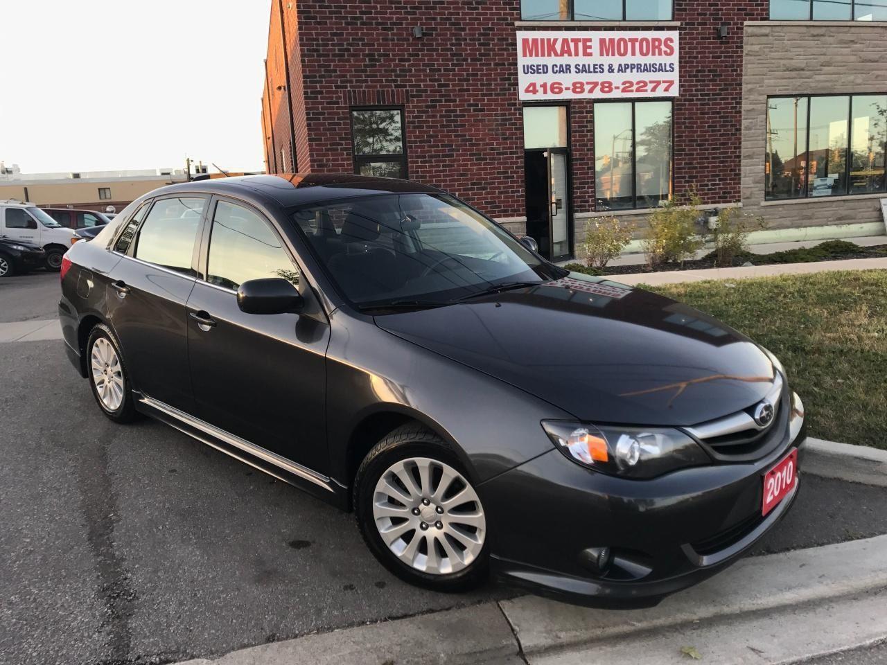 Photo of Gray 2010 Subaru Impreza