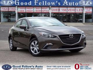 Used 2015 Mazda MAZDA3 GX MODEL, POWER WINDOWS, POWER LOCKS, KEYLESS for sale in North York, ON