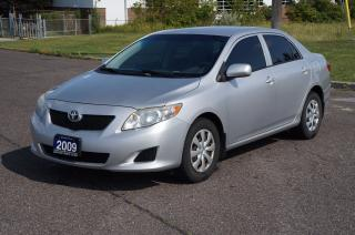 Used 2009 Toyota Corolla CE *No Accident* Clean Car for sale in North York, ON