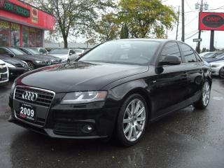 Used 2009 Audi A4 2.0T S-Line Quattro Premium for sale in London, ON