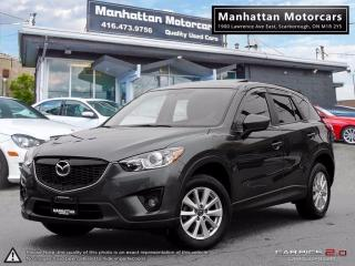 Used 2014 Mazda CX-5 GS SKY |SUNROOF|BLIND.SPOT|CAMERA|PHONE|1OWNER for sale in Scarborough, ON