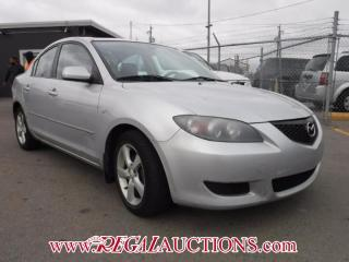Used 2005 Mazda MAZDA3  4D SEDAN for sale in Calgary, AB