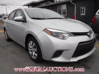 Used 2016 Toyota COROLLA CE 4D SEDAN AT for sale in Calgary, AB