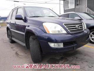 Used 2006 Lexus GX470  4D UTILITY for sale in Calgary, AB
