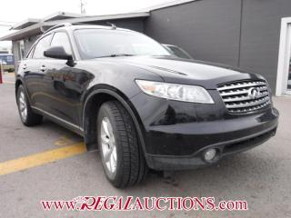 Used 2004 Infiniti FX35  4D UTILITY AWD for sale in Calgary, AB