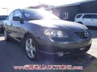 Used 2005 Mazda MAZDA3 GT 4D Sedan for sale in Calgary, AB