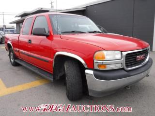 Used 2001 GMC SIERRA 1500  EXT CAB 2WD for sale in Calgary, AB