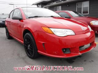 Used 2007 Saturn ION UPLEVEL 4D QUAD COUPE for sale in Calgary, AB