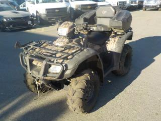 Used 2012 Honda Rubicon Trail Edition 4WD ATV for sale in Burnaby, BC