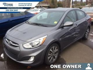 Used 2015 Hyundai Accent SE  Sunroof, Bluetooth, heated seats for sale in Courtenay, BC