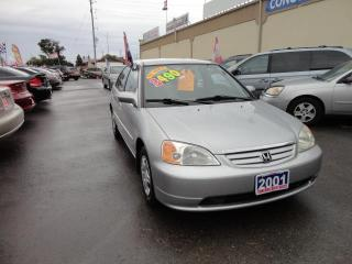Used 2001 Honda Civic LX-G for sale in Breslau, ON
