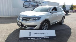 Used 2017 Lincoln MKX Reserve 3.7L V6  AWD Leather, Panoramic Roof for sale in Stratford, ON