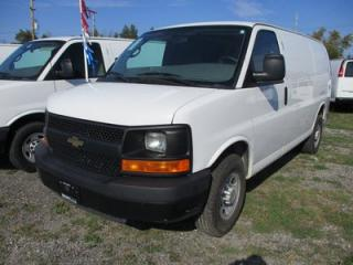 Used 2014 Chevrolet Express 'GREAT VALUE' 3/4 TON - CARGO MOVER 2 PASSENGER 4.8L - VORTEC.. TOW SUPPORT.. AIR CONDITIONING.. POWER LOCKS & WINDOWS.. for sale in Bradford, ON