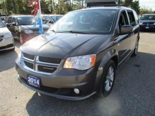 Used 2014 Dodge Grand Caravan LOADED SE - 30TH ANNIVERSARY 7 PASSENGER 3.6L - V6.. CAPTAINS.. STOW-N-GO.. LEATHER TRIM.. BACK-UP CAMERA.. DVD PLAYER.. U-CONNECT.. for sale in Bradford, ON