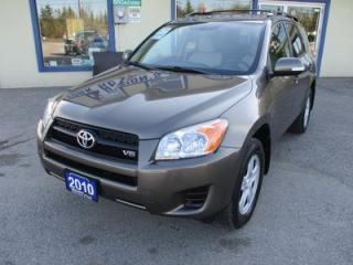 Used 2010 Toyota RAV4 'GREAT VALUE' POWER EQUIPPED FOUR-WHEEL DRIVE 5 PASSENGER 3.5L - V6.. CD & AUX INPUT.. KEYLESS ENTRY.. for sale in Bradford, ON