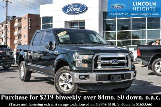 Used 2015 Ford F-150 XLT SuperCrew 5.5-ft. Bed 4WD for sale in Ottawa, ON