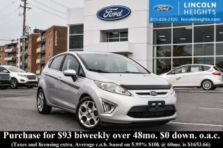 Used 2011 Ford Fiesta SES Hatchback for sale in Ottawa, ON