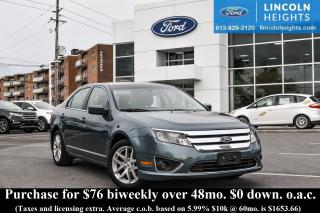 Used 2011 Ford Fusion V6 SEL for sale in Ottawa, ON