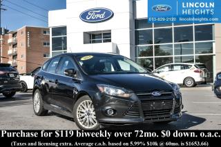Used 2014 Ford Focus TITANIUM HATCH - BLUETOOTH - NAV for sale in Ottawa, ON
