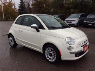 Used 2013 Fiat 500 Lounge..1 owner..accident free.. for sale in Milton, ON