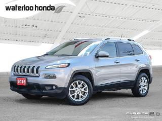 Used 2015 Jeep Cherokee North Bluetooth, Back Up Camera, 4X4, Heated Seats and more! for sale in Waterloo, ON