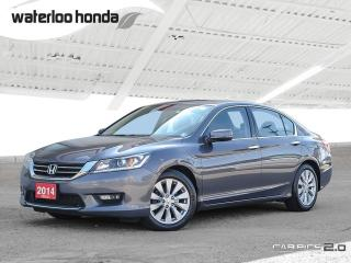 Used 2014 Honda Accord EX-L V6 Bluetooth, Back Up Camera, Heated Seats and more! for sale in Waterloo, ON