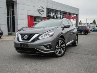 Used 2017 Nissan Murano Platinum for sale in Orleans, ON