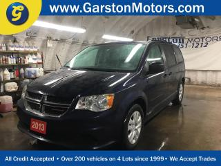 Used 2013 Dodge Grand Caravan SXT*DUAL ROW STOW N GO*Phone Connect*Second-Row Power*Windows Power Quarter Vented Windows*DUAL ZONE CLIMATE CONTROL*POWER WINDOWS/LOCKS/HEATED MIRROR for sale in Cambridge, ON