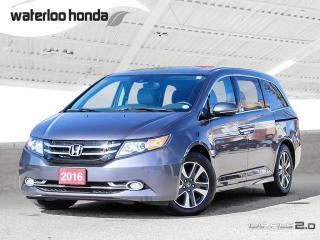 Used 2016 Honda Odyssey Touring One Owner, Bluetooth, Back Up Camera, Navigation and More! for sale in Waterloo, ON