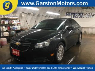 Used 2012 Chevrolet Cruze ECO*KEYLESS ENTRY*POWER WINDOWS/LOCKS/MIRRORS*CLIMATE CONTROL*TRACTION CONTROL*ON STAR*PIONEER TOUCH SCREEN DECK*AM/FM/CD/AUX/USB/BLUETOOTH*ALLOYS* for sale in Cambridge, ON