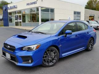 Used 2018 Subaru Impreza WRX Sport-tech w/Eyesight for sale in Kitchener, ON