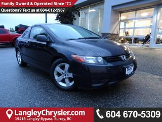 Used 2007 Honda Civic LX *LOCAL BC CAR* DEALER INSPECTED* for sale in Surrey, BC