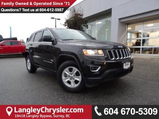 Used 2015 Jeep Grand Cherokee Laredo *ACCIDENT FREE * DEALER INSPECTED * CERTIFIED * for sale in Surrey, BC