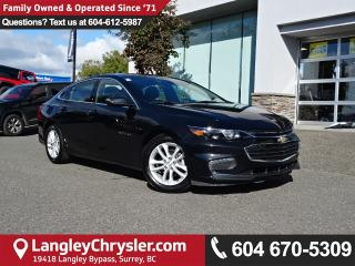 Used 2017 Chevrolet Malibu 1LT *ACCIDENT FREE * DEALER INSPECTED * CERTIFIED * for sale in Surrey, BC