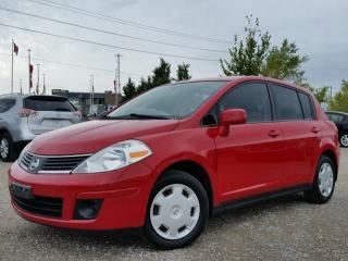 Used 2009 Nissan Versa 1.8 S w/keyless entry,pwr door locks,pwr windows for sale in Cambridge, ON