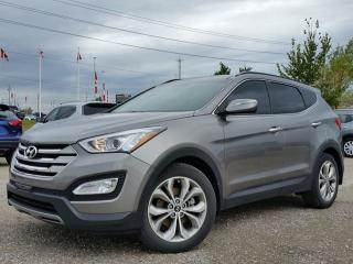 Used 2014 Hyundai Santa Fe Sport 2.0T AWD w/all leather,remote start,panoramic roof,climate control,heated seats,rear cam for sale in Cambridge, ON