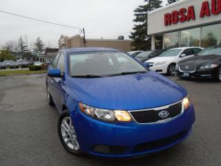 Used 2011 Kia Forte EX AUXILIARY,BLUETOOTH,LOW KM, SAFETY E TEST INC for sale in Oakville, ON