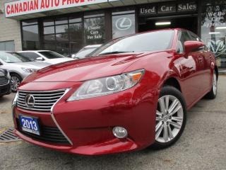 Used 2013 Lexus ES 350 PRM-PKG-CAMERA-LEXURY-LOADED for sale in Scarborough, ON
