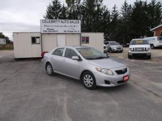 Used 2009 Toyota Corolla CE for sale in Elmvale, ON