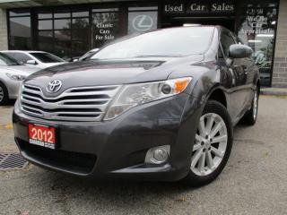 Used 2012 Toyota Venza AWD-PRM-PKG-LEATHER-ROOF-CAMERA-HEATED for sale in Scarborough, ON