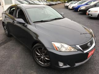 Used 2010 Lexus IS 250 6-SPEED/ALLOYS/HEATED SEATS/FOG LIGHTS/LOW MILEAGE for sale in Scarborough, ON