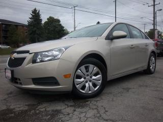 Used 2012 Chevrolet Cruze LT Turbo w/1SA for sale in Whitby, ON