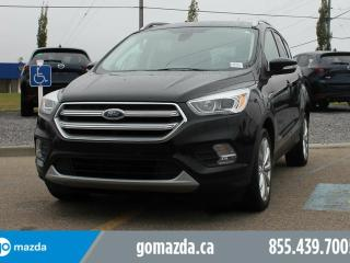 Used 2017 Ford Escape Titanium AWD LEATHER SUNROOF NAVIGATION ACCIDENT FREE for sale in Edmonton, AB